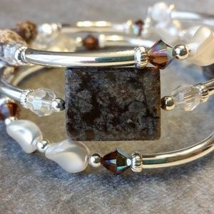 Handcrafted Bracelet - Snowcapped Mountain